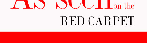 Red Carpet of Lady in Red 2013 Fashion Event