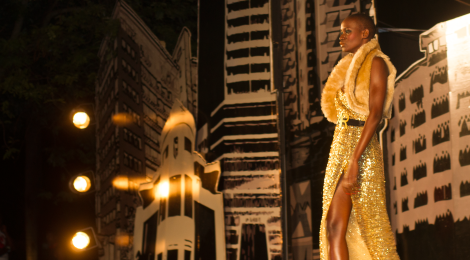 Fashion show: Designer Ally Rehmtullah's 2014 collection - 'Fashion Avenue'. See more...