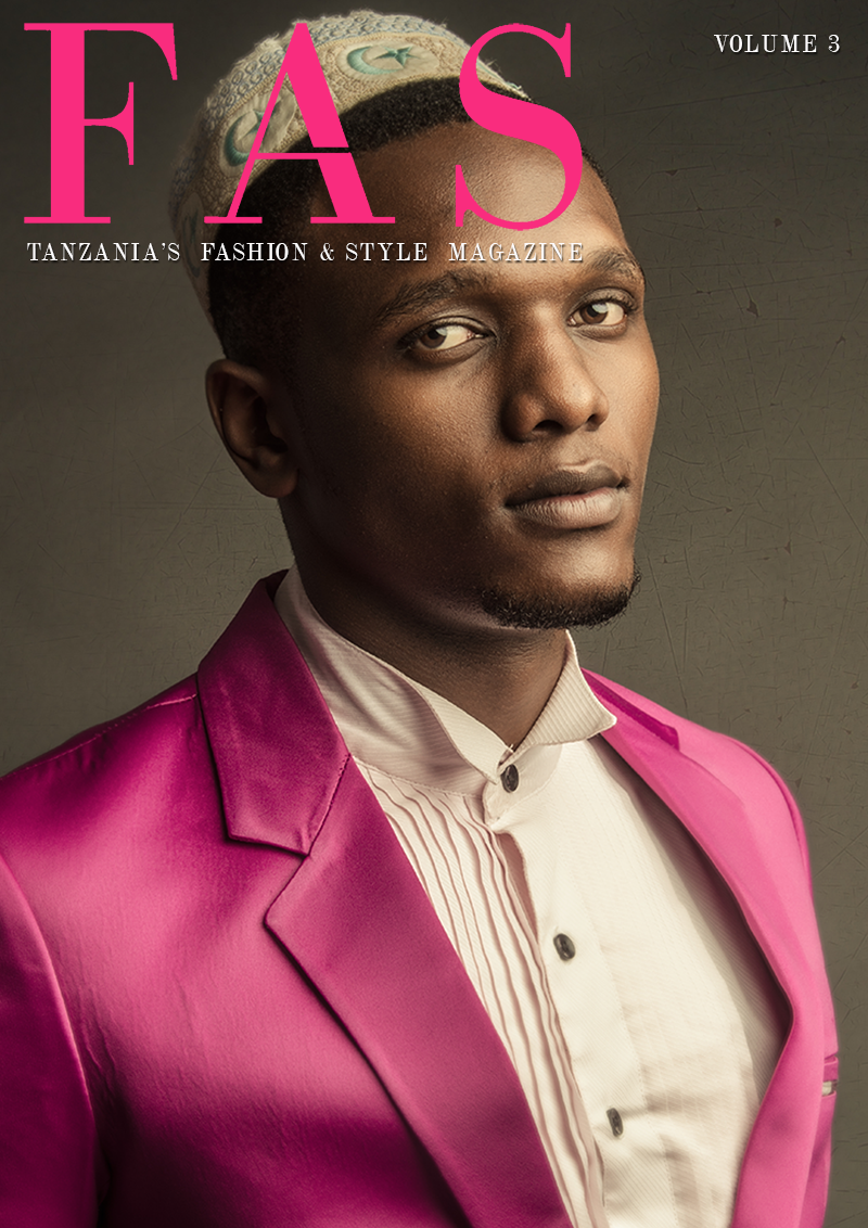 Cover of Issue 3 of FAS Magazine. May 2013, featuring model Lota Mollel.