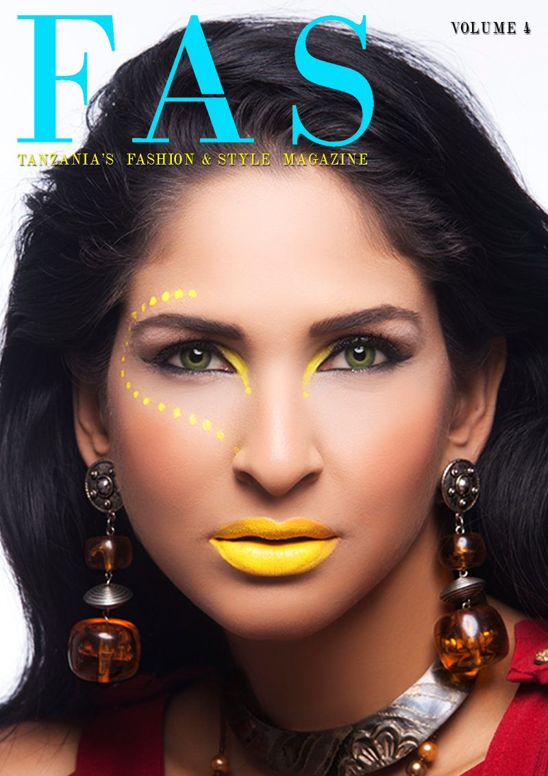 Cover of Issue 5 of FAS Magazine. July 2013, featuring model and actress Richa Adhia.