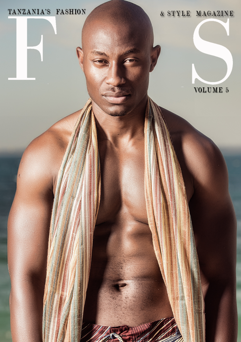 Cover of Issue 6 of FAS Magazine. July 2013, featuring model Daxx Hans.