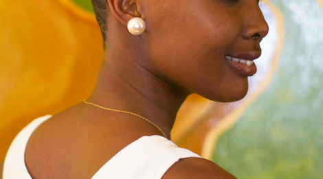 Elizabeth Boniface, Miss Universe Tanzania 2013 goes natural.
