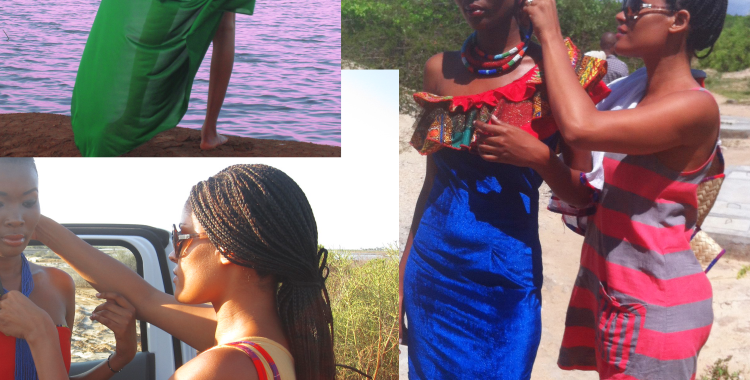 Styling at Saadani National Park. A Tanzanian park where 'the bush meets the beach'.