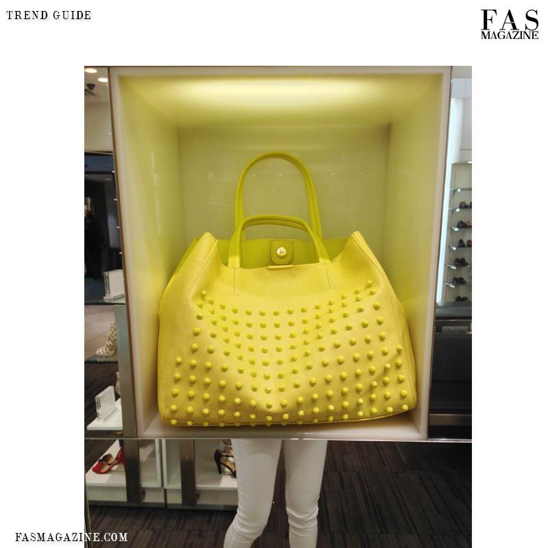 Handbag trends spring 2014