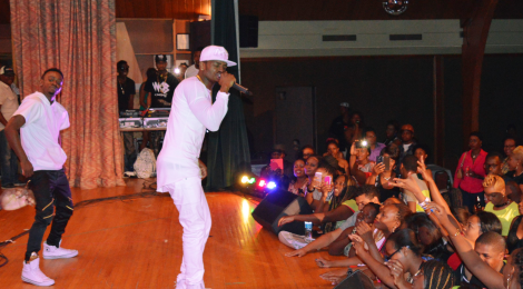 Diamond Platnumz performing at Afronation Concert, Toronto. See more...