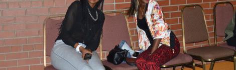 Fashionistas at Afronation Concert.