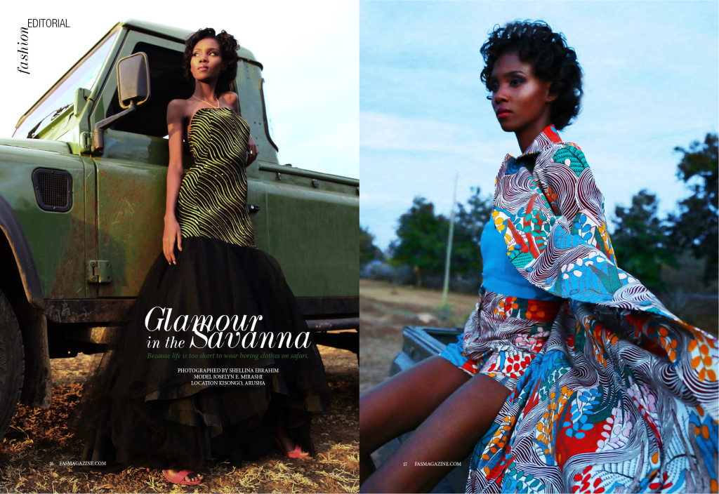 Glamour In The Savanna