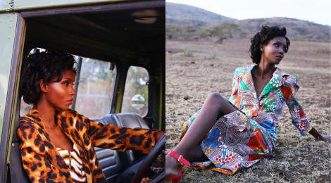 Fashion Editorial - 'Glamour In The Savanna'