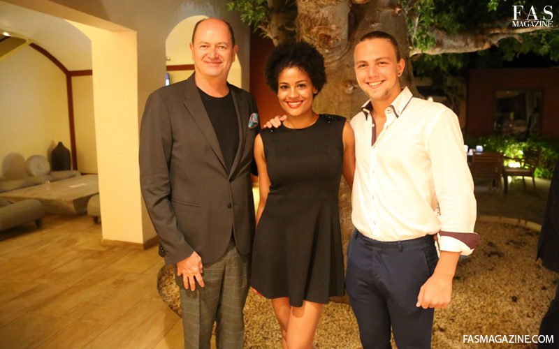 Left: Park Hyatt GM Gary Friend, Middle: FAS Magazine Editor in Chief Shellina Ebrahim